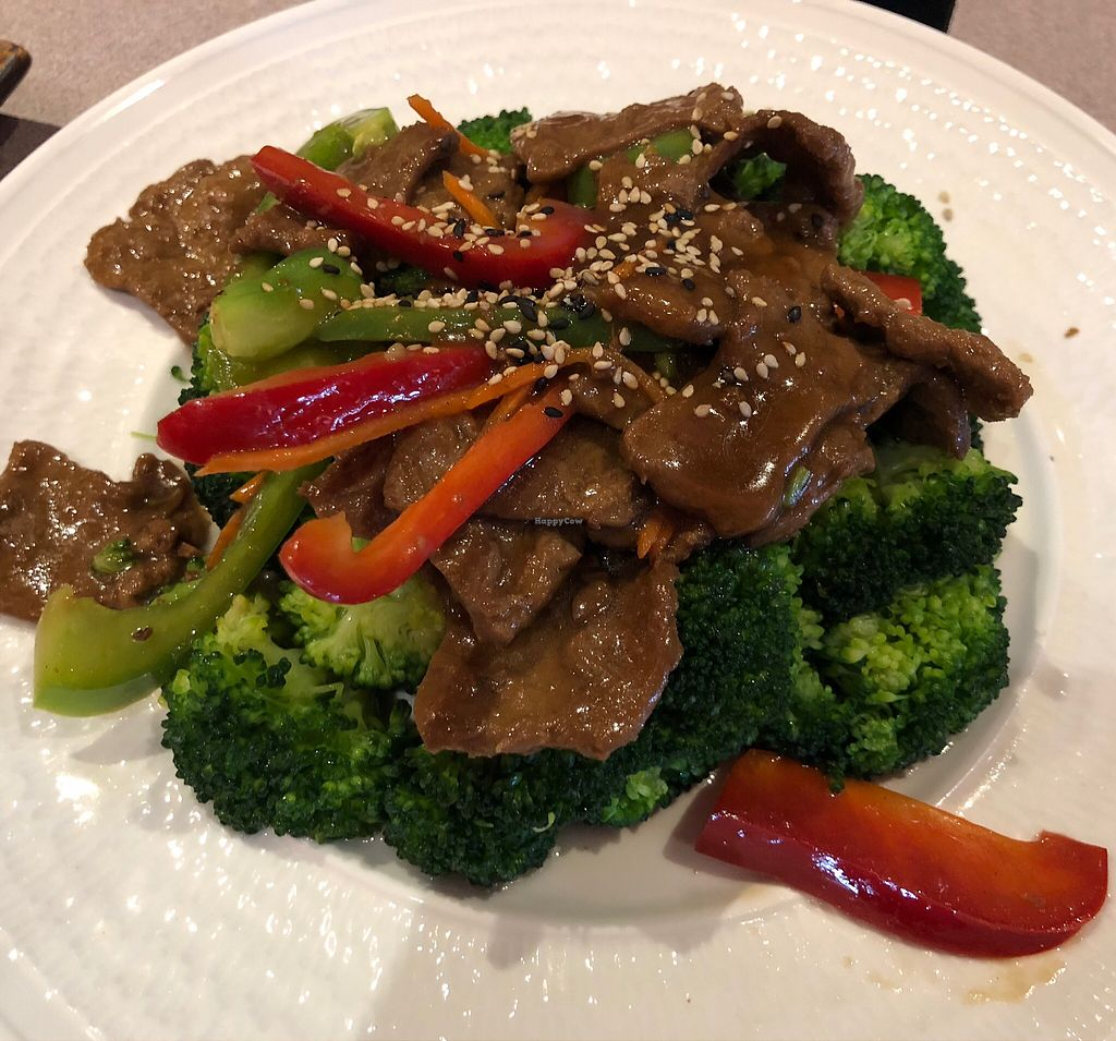 "Photo of Tenon Vegetarian Cuisine  by <a href=""/members/profile/gwild"">gwild</a> <br/>Beef broccoli  <br/> March 14, 2018  - <a href='/contact/abuse/image/29489/370681'>Report</a>"