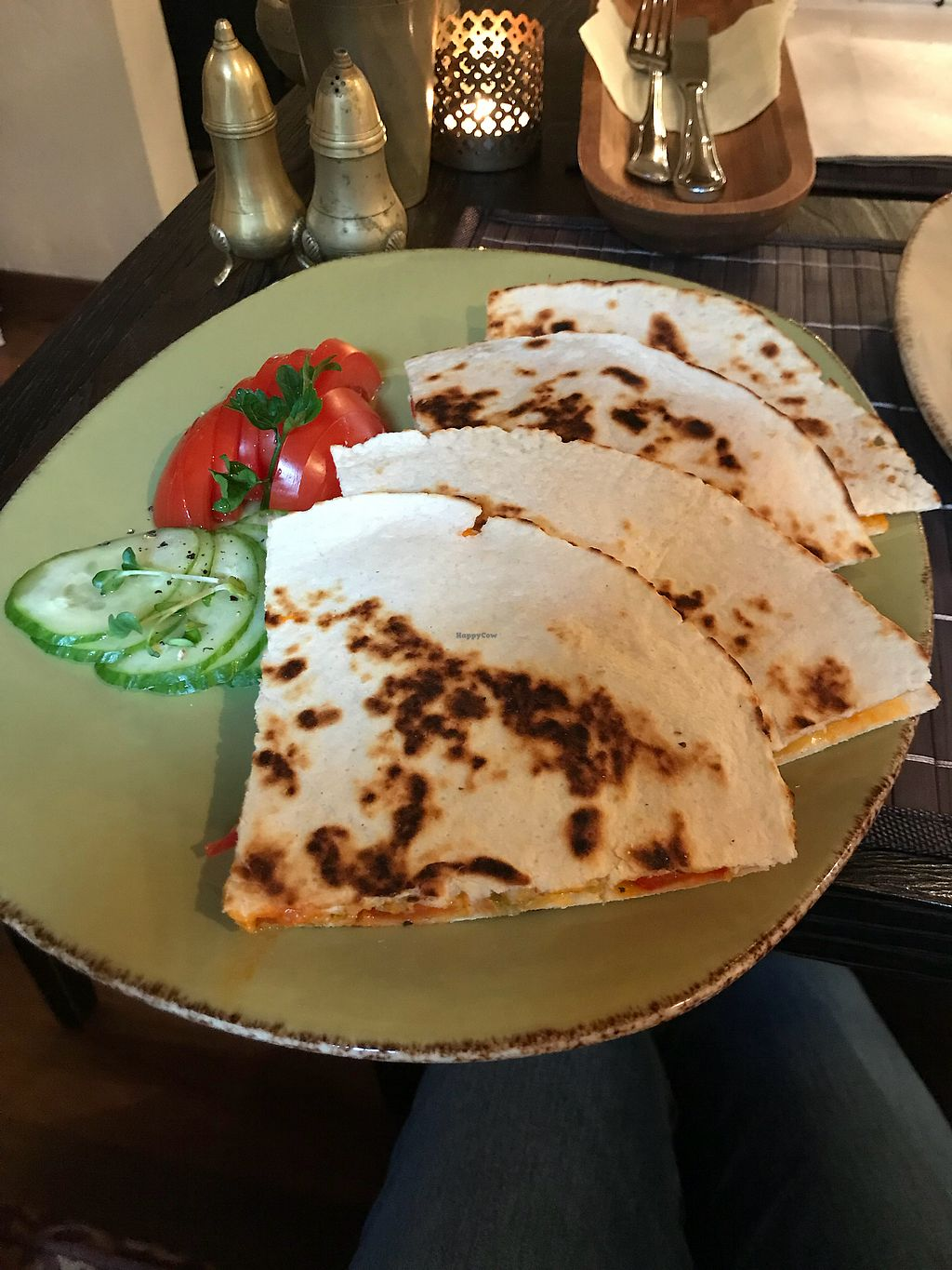 "Photo of Vegafe - Augustijonu Str.  by <a href=""/members/profile/alicewoodward1"">alicewoodward1</a> <br/>Quesadillas  <br/> November 1, 2017  - <a href='/contact/abuse/image/29520/320794'>Report</a>"