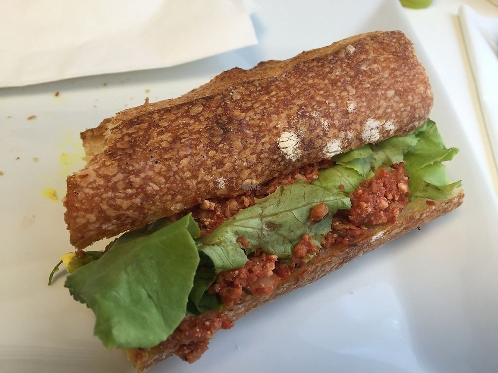 """Photo of Vegan Folie's  by <a href=""""/members/profile/StevieSurf"""">StevieSurf</a> <br/>Sandwich <br/> February 17, 2017  - <a href='/contact/abuse/image/29521/227268'>Report</a>"""