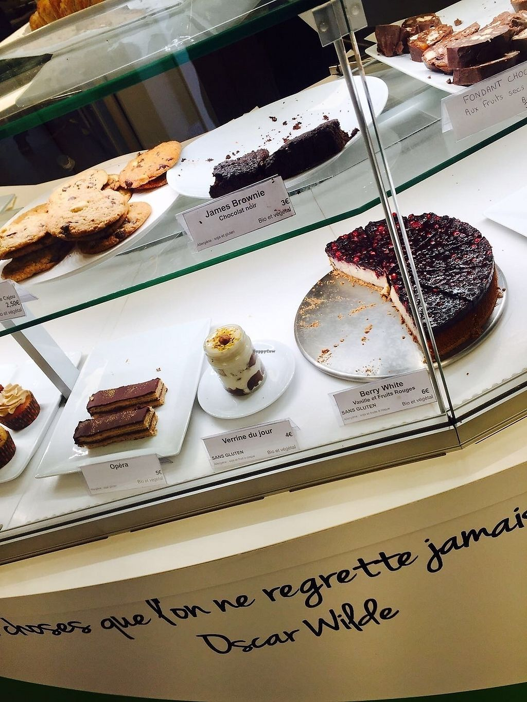 """Photo of Vegan Folie's  by <a href=""""/members/profile/TARAMCDONALD"""">TARAMCDONALD</a> <br/>Delicious cake selection <br/> September 11, 2017  - <a href='/contact/abuse/image/29521/303198'>Report</a>"""