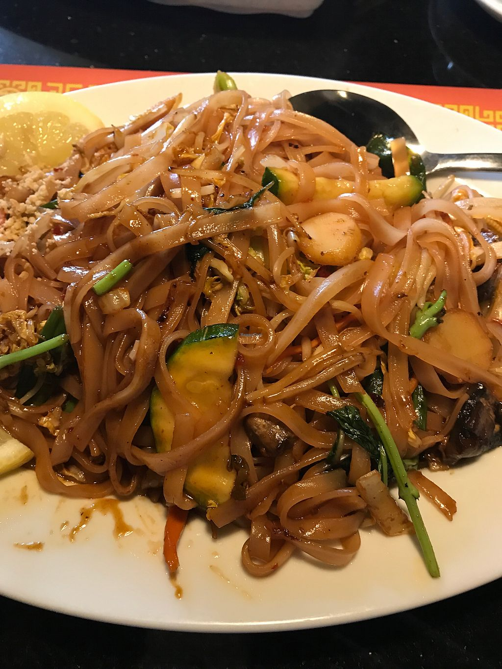 """Photo of Chopstix Asian Bistro  by <a href=""""/members/profile/MyGreenTongue"""">MyGreenTongue</a> <br/>pad thai  <br/> July 3, 2017  - <a href='/contact/abuse/image/29524/276207'>Report</a>"""