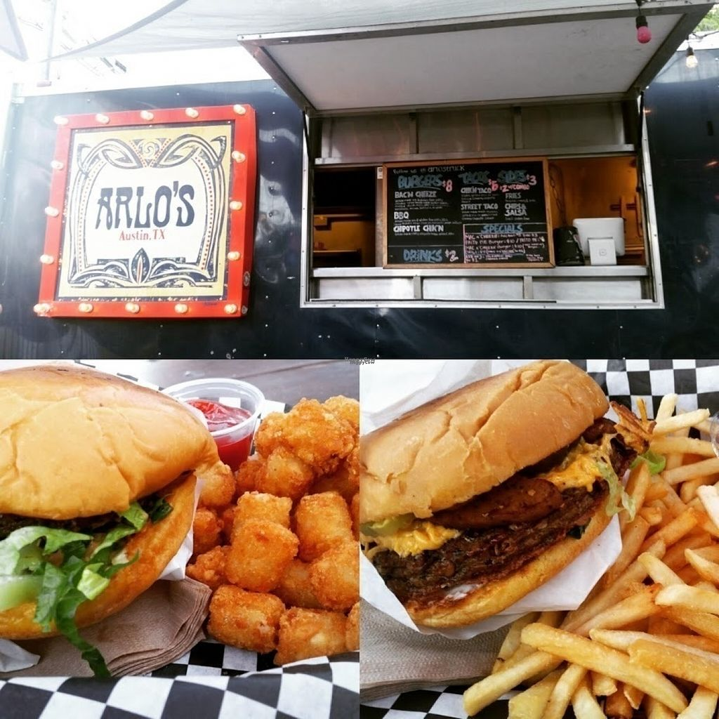 """Photo of Arlo's Food Truck - Cheerup Charlie's  by <a href=""""/members/profile/AlyssaWagner"""">AlyssaWagner</a> <br/>BEST BURGER EVER <br/> August 4, 2016  - <a href='/contact/abuse/image/29535/165420'>Report</a>"""