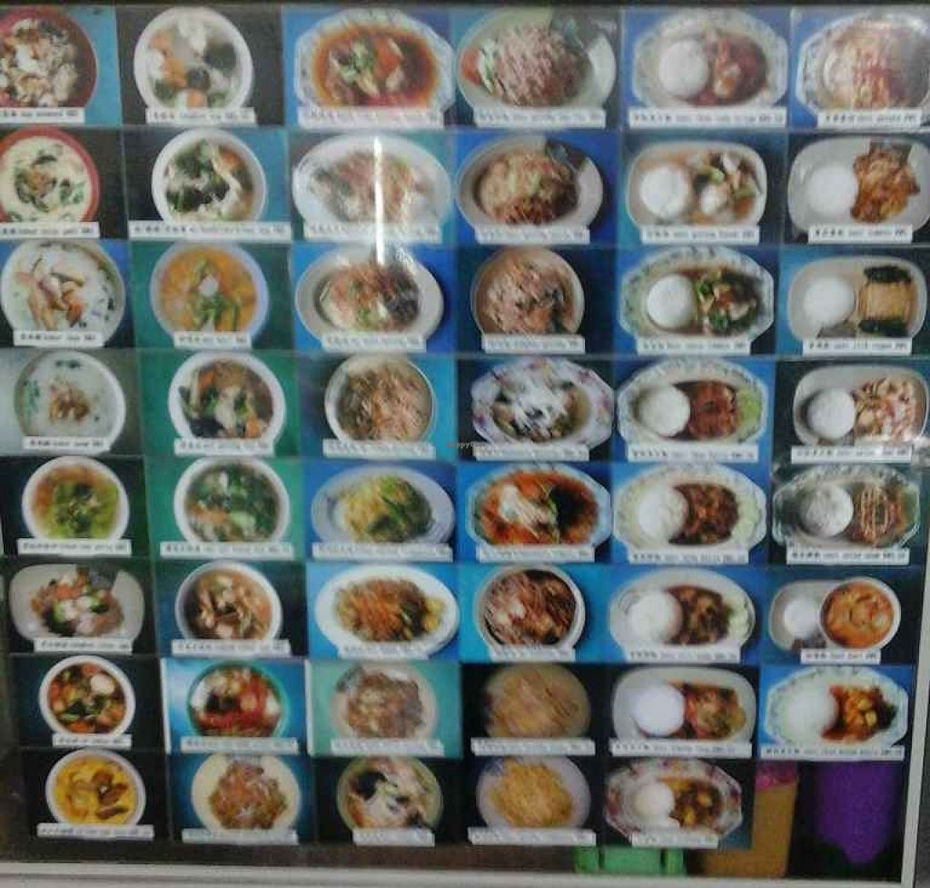 """Photo of Farley Cafe Vegetarian Food Stall  by <a href=""""/members/profile/junya"""">junya</a> <br/>Menu on display <br/> December 23, 2015  - <a href='/contact/abuse/image/29555/129574'>Report</a>"""