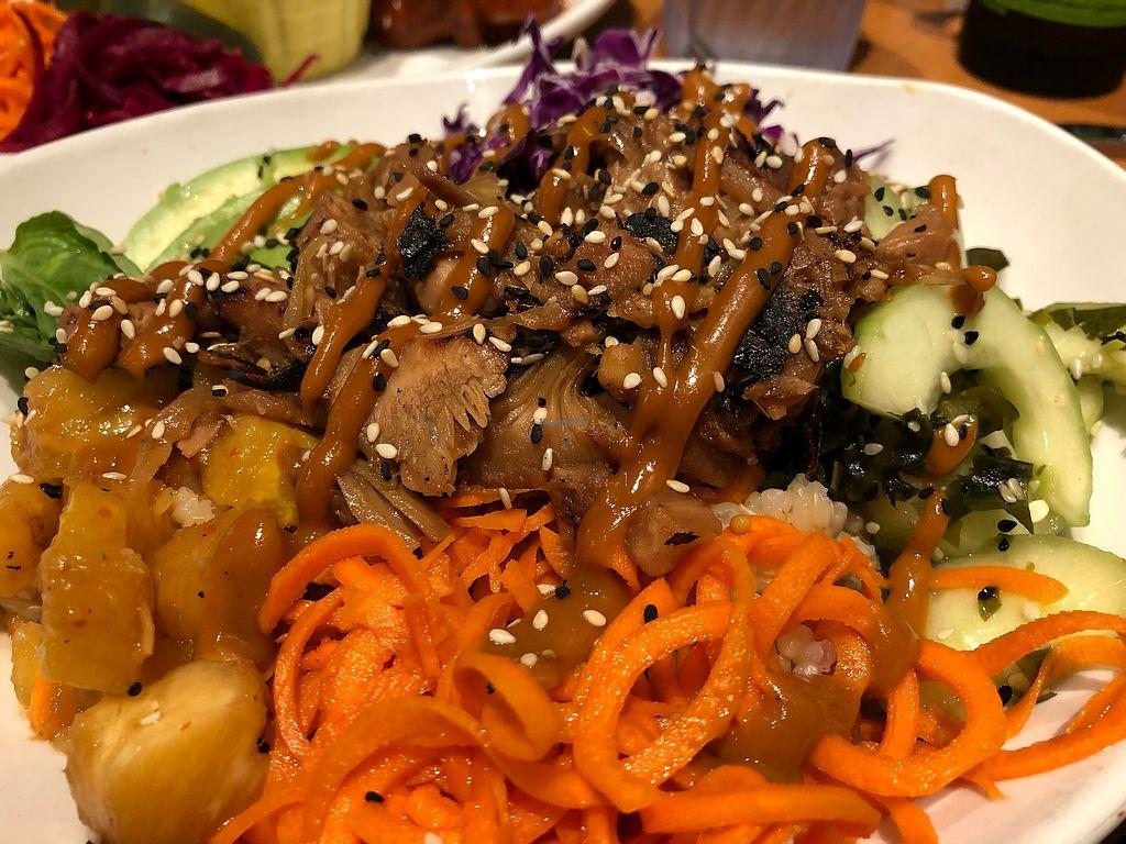 "Photo of Native Foods  by <a href=""/members/profile/brionydsd"">brionydsd</a> <br/>Korean BBQ Bulgogi Bowl ? <br/> April 8, 2018  - <a href='/contact/abuse/image/29575/382519'>Report</a>"