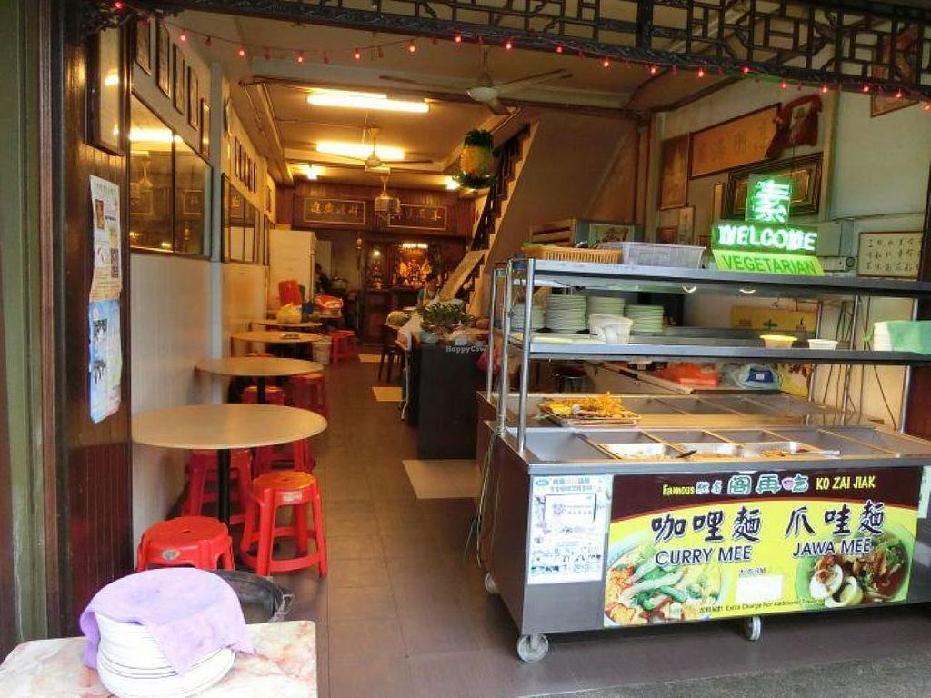 """Photo of CLOSED: Ko Chai Lai Vegetarian Restaurant  by <a href=""""/members/profile/Canamon"""">Canamon</a> <br/>2014-09 dining area from front <br/> September 4, 2014  - <a href='/contact/abuse/image/29600/79090'>Report</a>"""