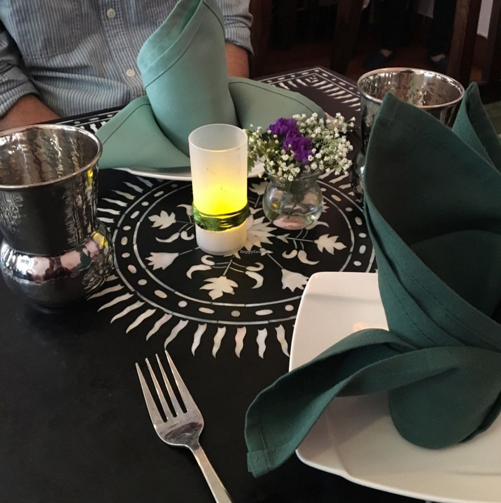 """Photo of CLOSED: Mughlai  by <a href=""""/members/profile/Peevestheturtle"""">Peevestheturtle</a> <br/>Beautiful tables!  <br/> March 15, 2016  - <a href='/contact/abuse/image/29633/140099'>Report</a>"""