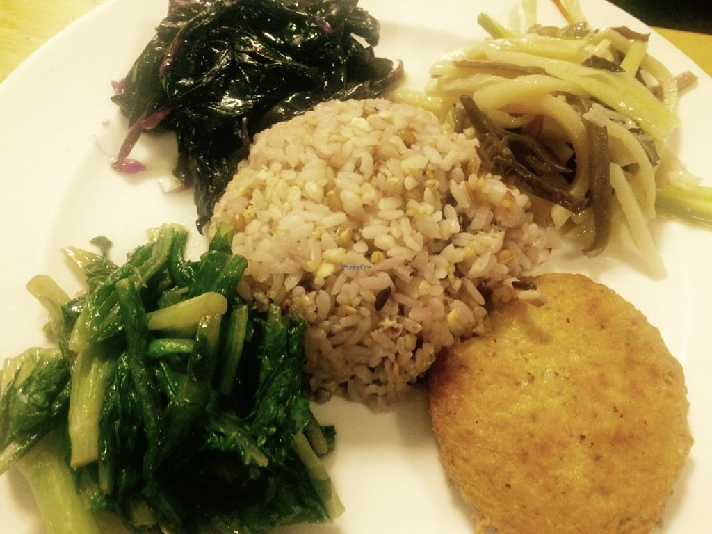 """Photo of Vegetarian Kitchen  by <a href=""""/members/profile/Pitaya"""">Pitaya</a> <br/>Rice and mock meat <br/> June 11, 2016  - <a href='/contact/abuse/image/29634/153495'>Report</a>"""