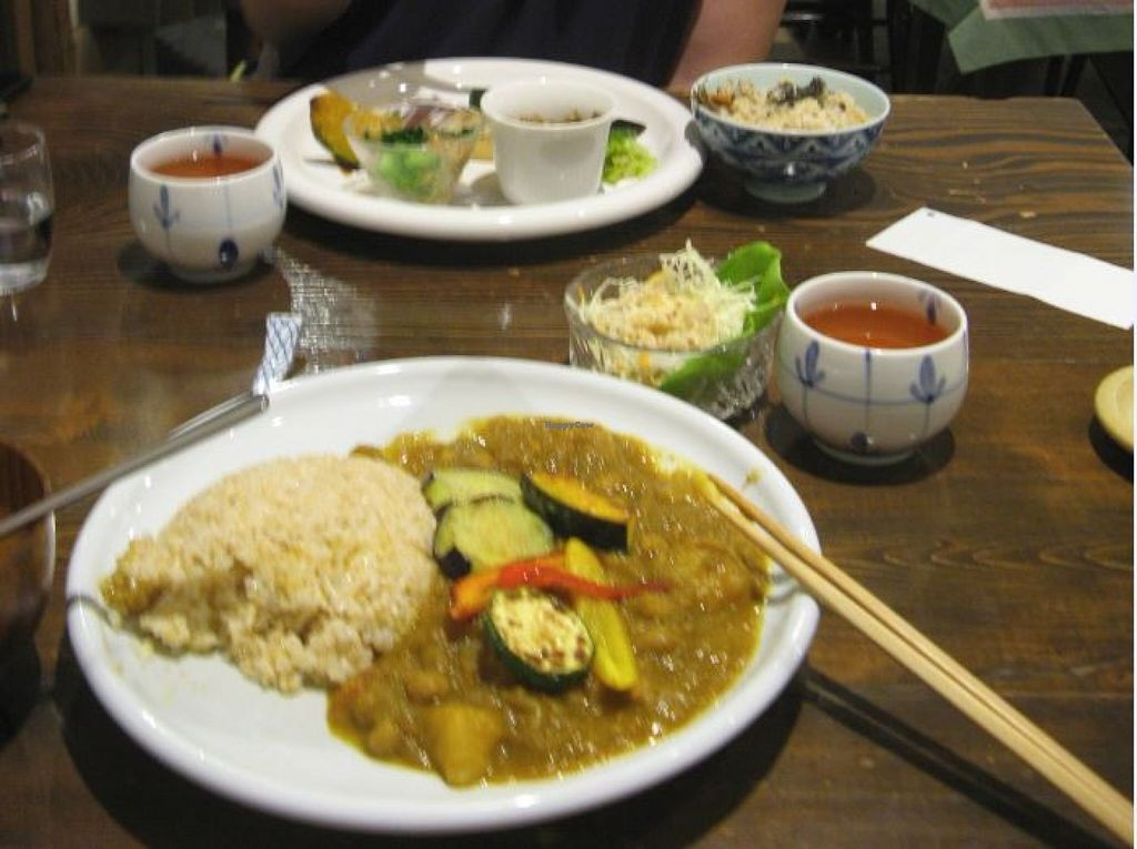 """Photo of Nezu no ya  by <a href=""""/members/profile/Smin"""">Smin</a> <br/>The upper one is the lunch set, the lower plate is the curry. October 2015.  <br/> October 6, 2015  - <a href='/contact/abuse/image/2964/120388'>Report</a>"""
