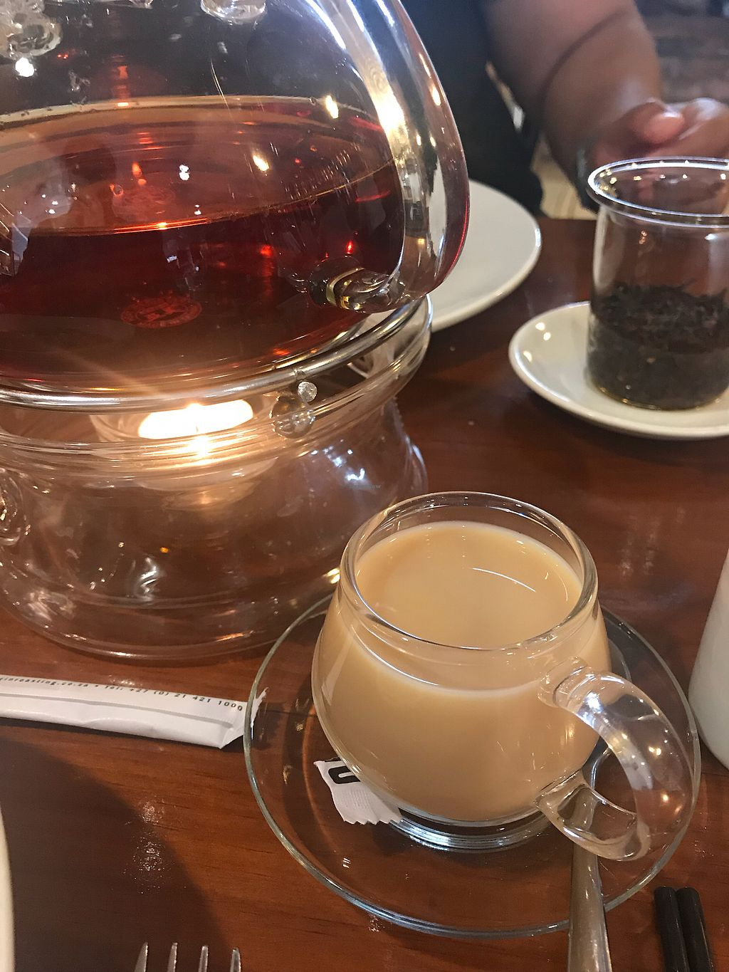 "Photo of O'ways Teacafe  by <a href=""/members/profile/Jasonleg"">Jasonleg</a> <br/>Amazing chai tea <br/> December 16, 2017  - <a href='/contact/abuse/image/29652/336113'>Report</a>"