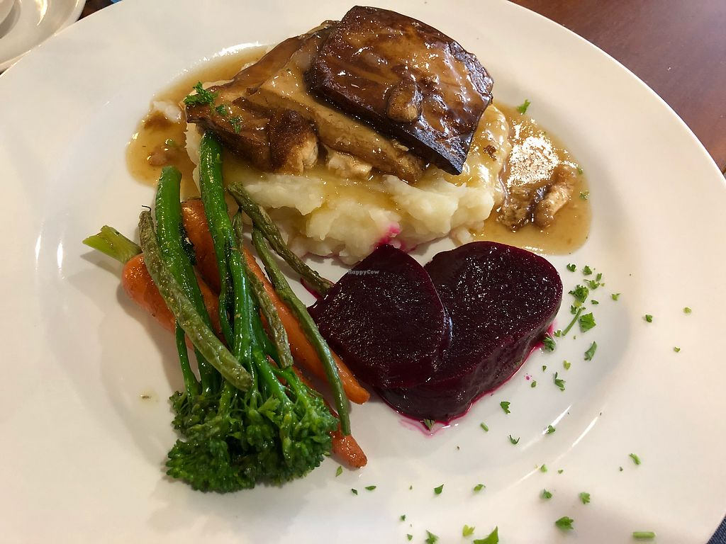 "Photo of O'ways Teacafe  by <a href=""/members/profile/Jasonleg"">Jasonleg</a> <br/>Tofu with sweet potato and potato mash. Yummy! <br/> February 21, 2018  - <a href='/contact/abuse/image/29652/362116'>Report</a>"