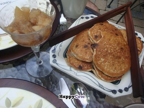 "Photo of Hungry Ghost Guest House  by <a href=""/members/profile/Sonja%20and%20Dirk"">Sonja and Dirk</a> <br/>chocolate chip banana pancakes <br/> July 21, 2013  - <a href='/contact/abuse/image/29696/51741'>Report</a>"
