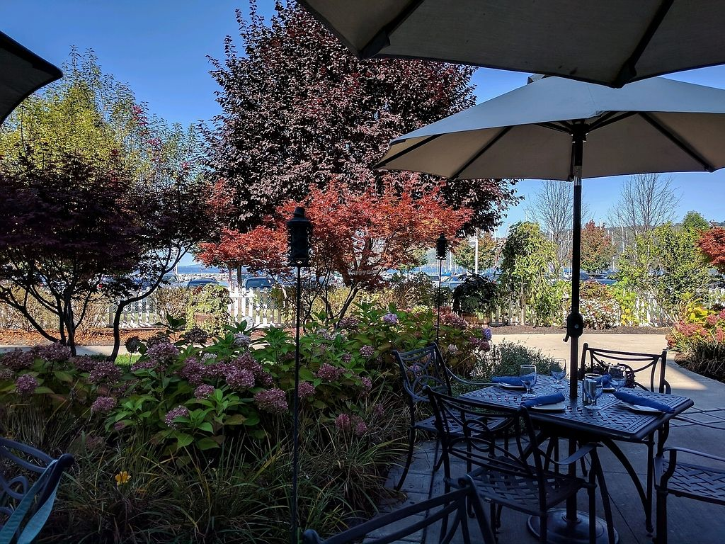 """Photo of Blue Pointe Grille  by <a href=""""/members/profile/Chickadee"""">Chickadee</a> <br/>lovely outdoor seating <br/> September 23, 2017  - <a href='/contact/abuse/image/29731/307580'>Report</a>"""