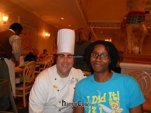 """Photo of Grand Floridian Cafe  by <a href=""""/members/profile/glassesgirl79"""">glassesgirl79</a> <br/>Me & Grand Floridan's Chef Jonathan <br/> November 18, 2012  - <a href='/contact/abuse/image/29753/40403'>Report</a>"""