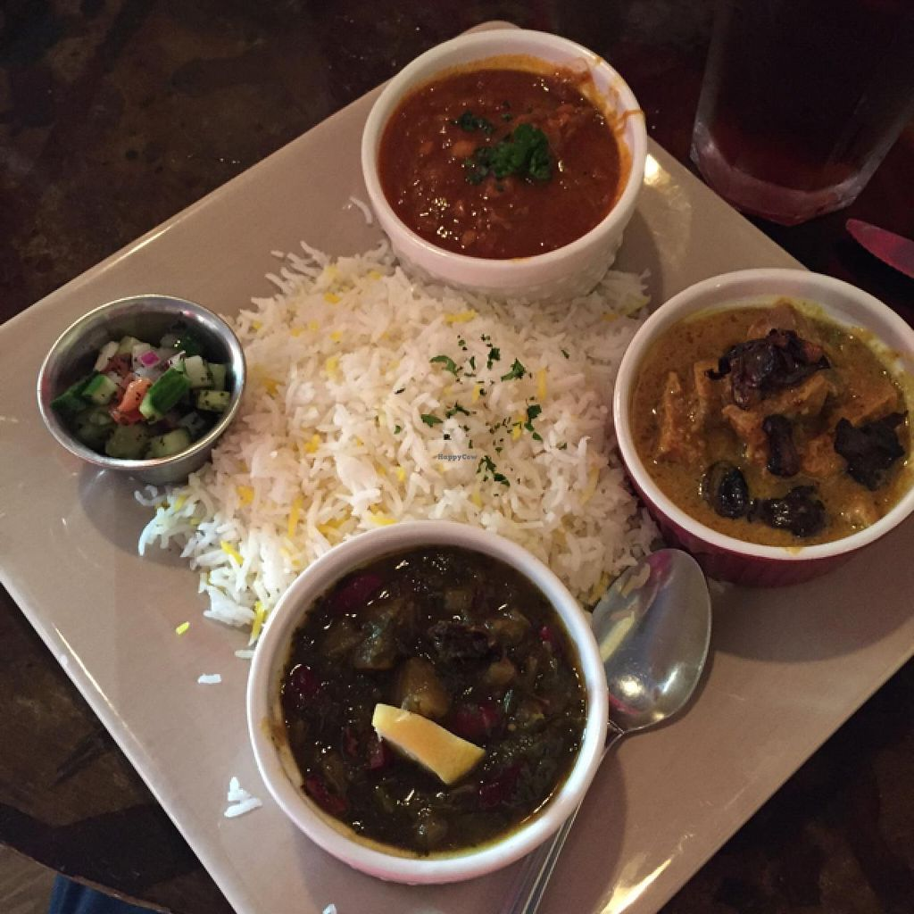 """Photo of Sage Vegetarian Restaurant  by <a href=""""/members/profile/JLP"""">JLP</a> <br/>the sampler plate <br/> July 9, 2015  - <a href='/contact/abuse/image/2978/108710'>Report</a>"""