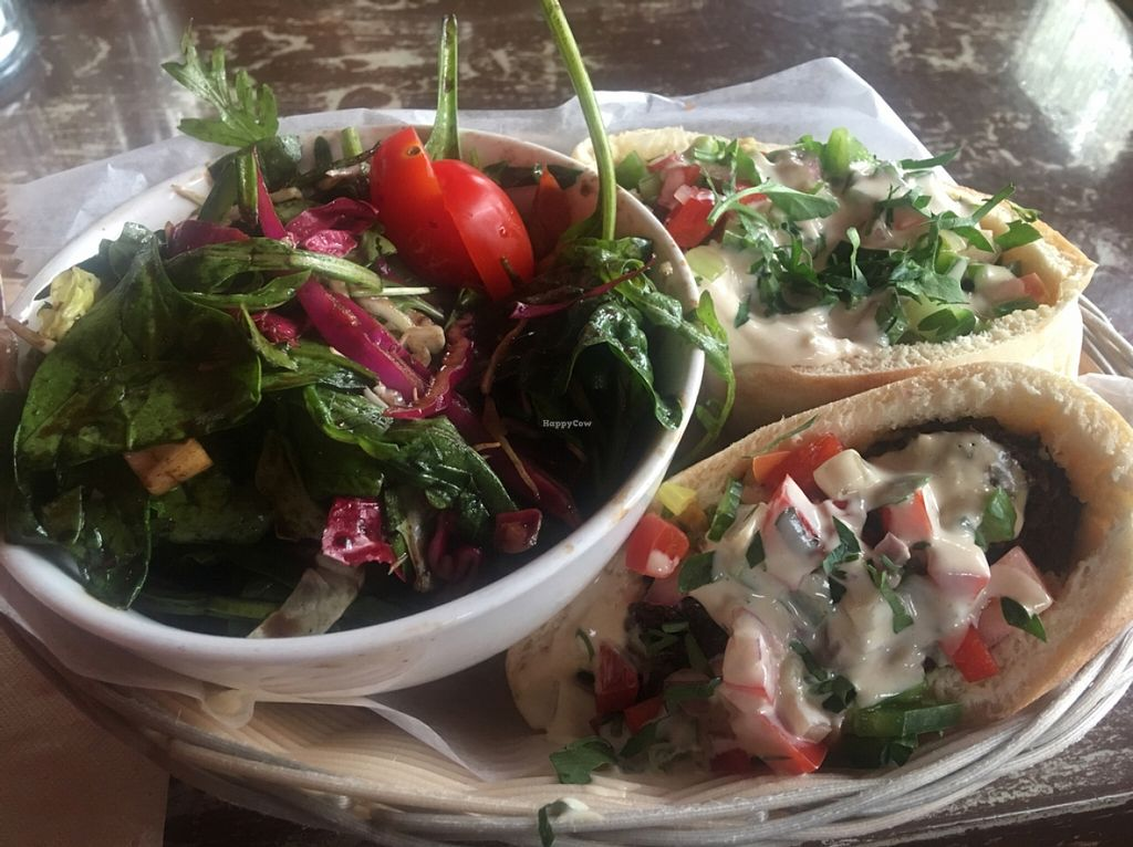 """Photo of The Witches Brew  by <a href=""""/members/profile/Stacie99"""">Stacie99</a> <br/>falafel sandwich  <br/> April 9, 2016  - <a href='/contact/abuse/image/29819/143605'>Report</a>"""