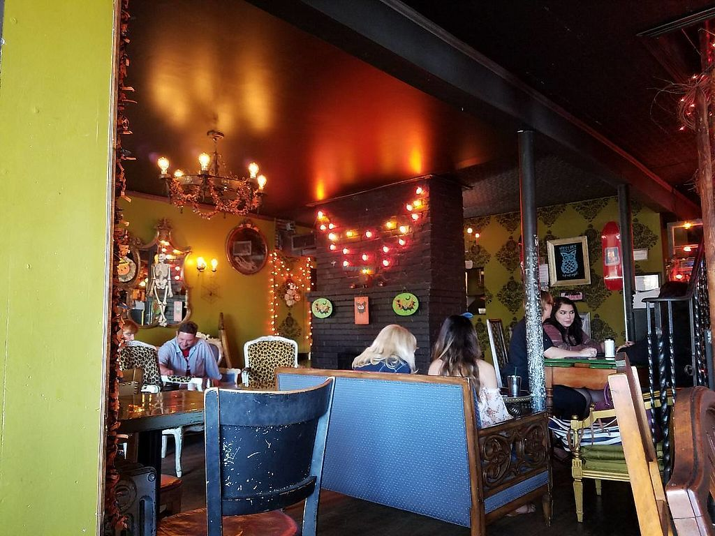 """Photo of The Witches Brew  by <a href=""""/members/profile/Katyathevegan"""">Katyathevegan</a> <br/>This is what a part of the restaurant looks like <br/> October 17, 2017  - <a href='/contact/abuse/image/29819/315992'>Report</a>"""