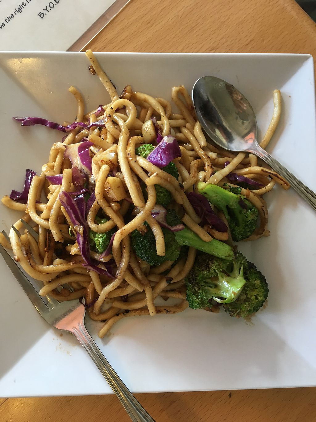 "Photo of Opal Thai  by <a href=""/members/profile/JessicaHolmes"">JessicaHolmes</a> <br/>Custom keiki noodles with garlic, red cabbage, and broccoli  <br/> September 10, 2017  - <a href='/contact/abuse/image/29883/302777'>Report</a>"