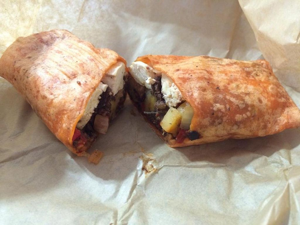 """Photo of Cafe Ibis  by <a href=""""/members/profile/Meggie%20and%20Ben"""">Meggie and Ben</a> <br/>Breakfast burrito veganized <br/> December 31, 2014  - <a href='/contact/abuse/image/29910/89152'>Report</a>"""