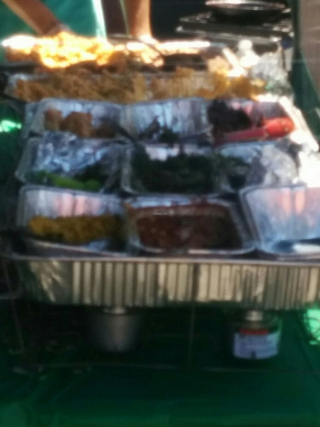 """Photo of Southern Fried Vegan BBQ  by <a href=""""/members/profile/MizzB"""">MizzB</a> <br/>prep area at Sonoma County VegFest 8/12/17 <br/> August 15, 2017  - <a href='/contact/abuse/image/29946/292847'>Report</a>"""