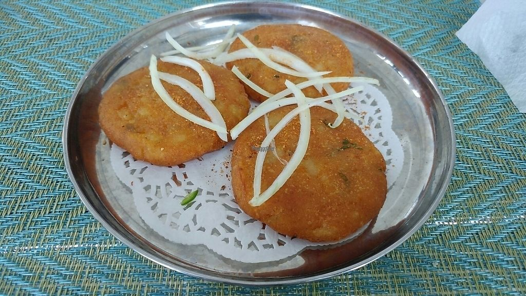 """Photo of Gokul Resto  by <a href=""""/members/profile/bialoglowy"""">bialoglowy</a> <br/>Aloo Tikki <br/> March 11, 2017  - <a href='/contact/abuse/image/29958/235126'>Report</a>"""