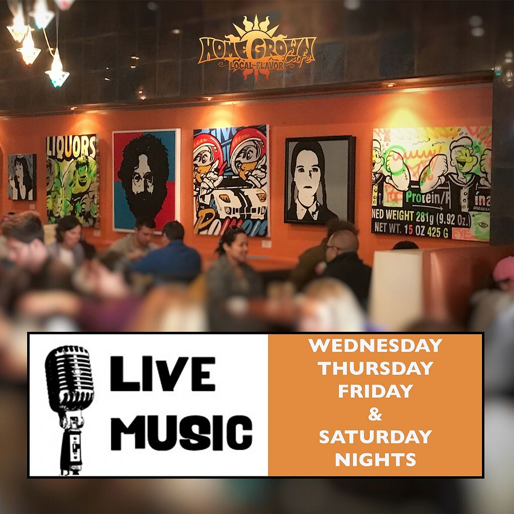 "Photo of Home Grown Cafe  by <a href=""/members/profile/samanthawooster"">samanthawooster</a> <br/>Live music Wed - Sat night