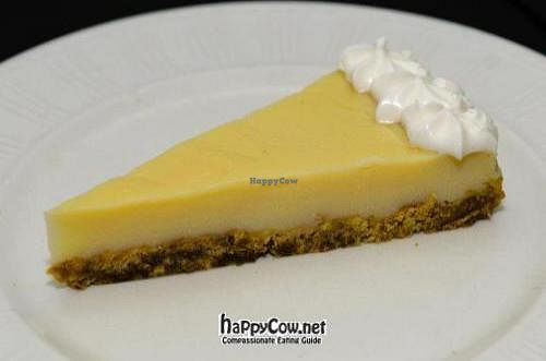 """Photo of Giro's Cafe  by <a href=""""/members/profile/giros%20cafe"""">giros cafe</a> <br/>vegan lemon cheesecake <br/> August 3, 2012  - <a href='/contact/abuse/image/30010/35373'>Report</a>"""