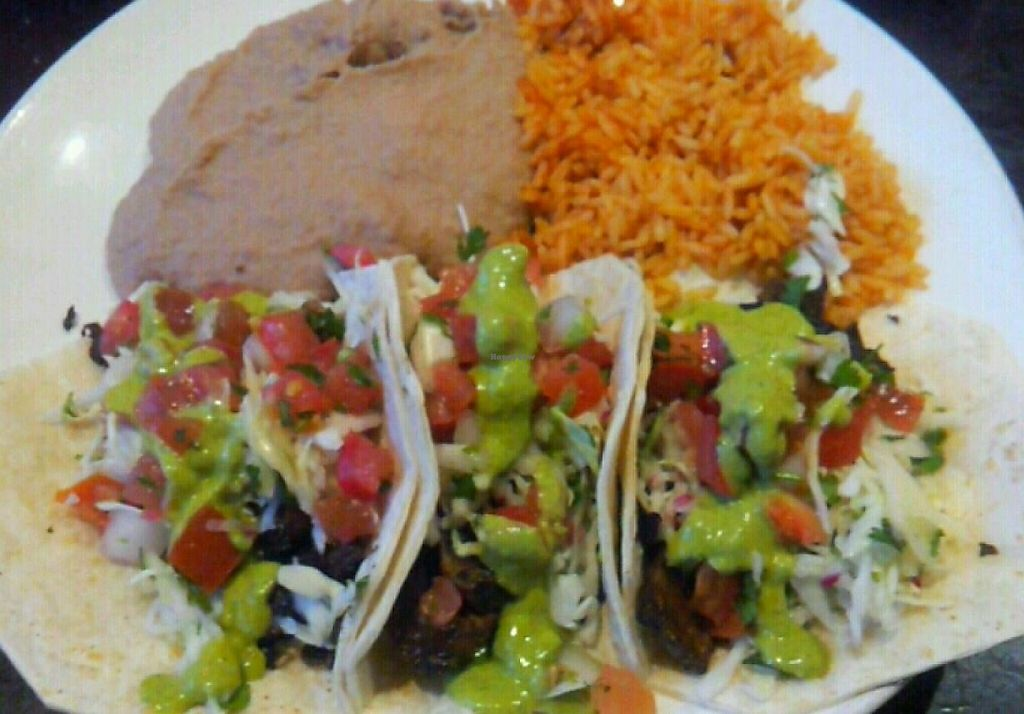 Photo of Sonora Grill  by Navegante <br/>Vegan mushroom tacos, July 2014 <br/> July 4, 2014  - <a href='/contact/abuse/image/30012/230497'>Report</a>
