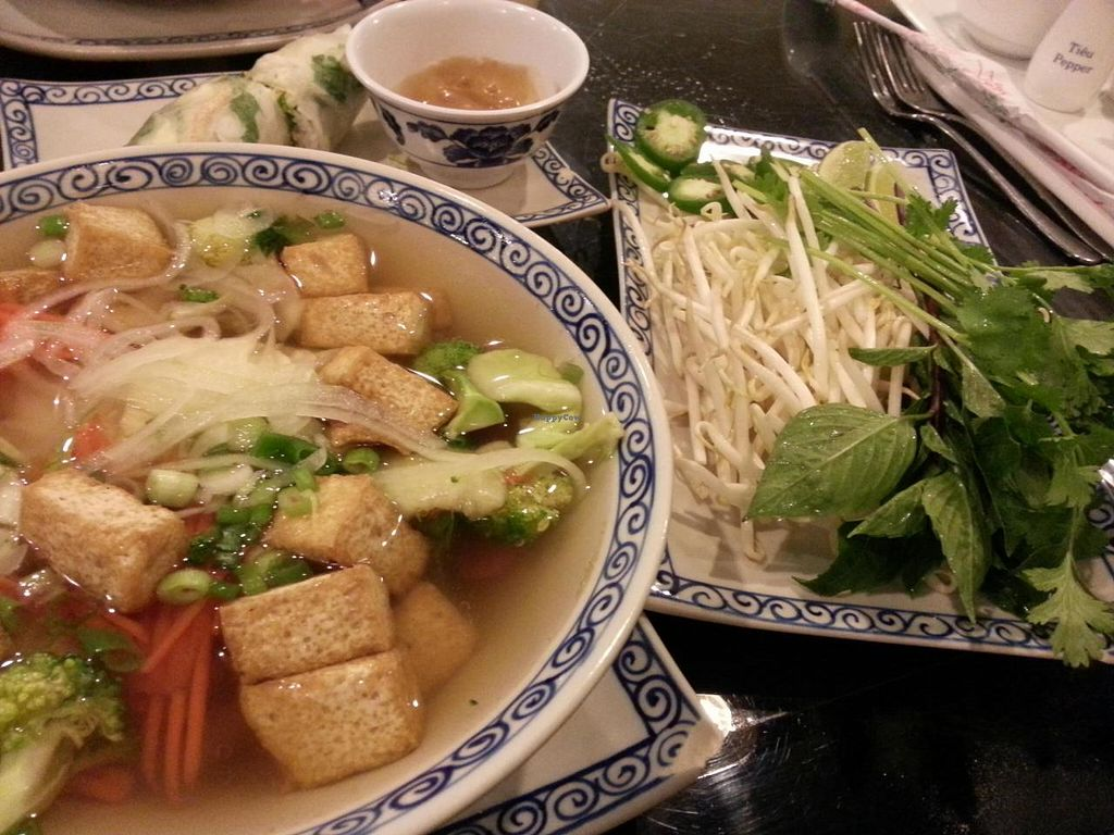 "Photo of Viet Kitchen  by <a href=""/members/profile/radtechg9"">radtechg9</a> <br/>veg pho <br/> November 8, 2014  - <a href='/contact/abuse/image/30076/85039'>Report</a>"