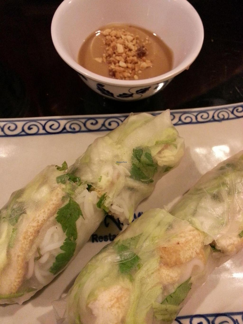 "Photo of Viet Kitchen  by <a href=""/members/profile/radtechg9"">radtechg9</a> <br/>tofu spring rolls w peanut sauce <br/> November 8, 2014  - <a href='/contact/abuse/image/30076/85040'>Report</a>"