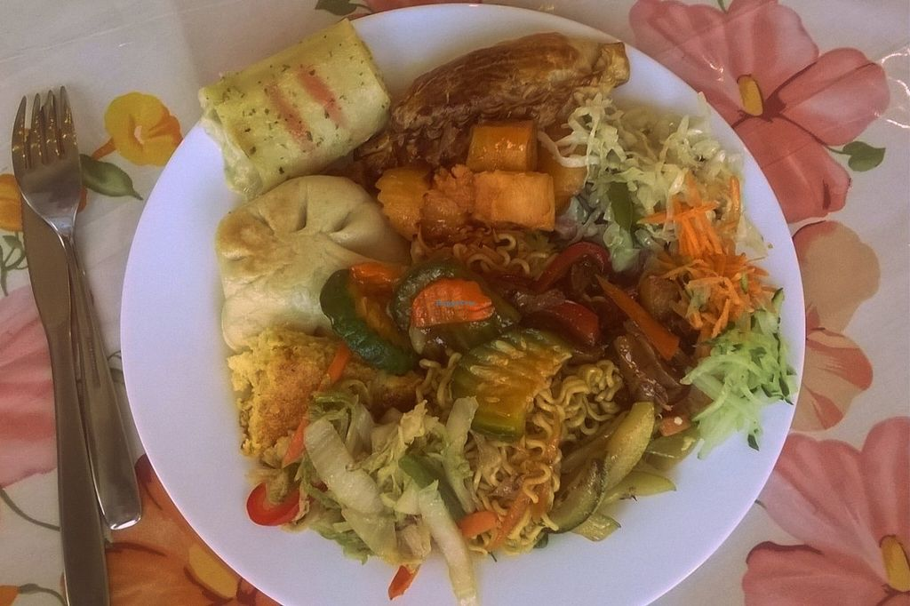 "Photo of La Nutrivida  by <a href=""/members/profile/bruno.assaz"">bruno.assaz</a> <br/>My lunch on March 28th, 2016, for which I paid ₲ 40,000 (around $ 7) <br/> April 11, 2016  - <a href='/contact/abuse/image/30081/143915'>Report</a>"