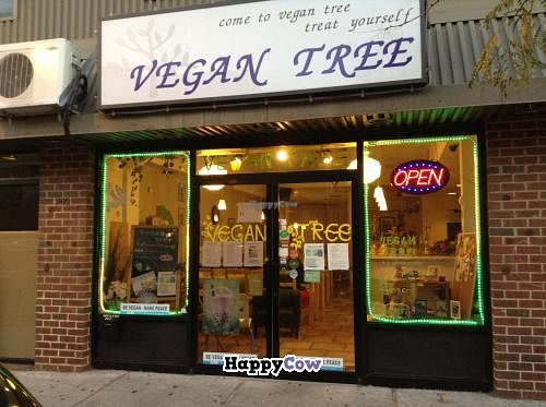 """Photo of Vegan Tree  by <a href=""""/members/profile/Julie%20R"""">Julie R</a> <br/>The storefront <br/> November 1, 2013  - <a href='/contact/abuse/image/30106/57709'>Report</a>"""