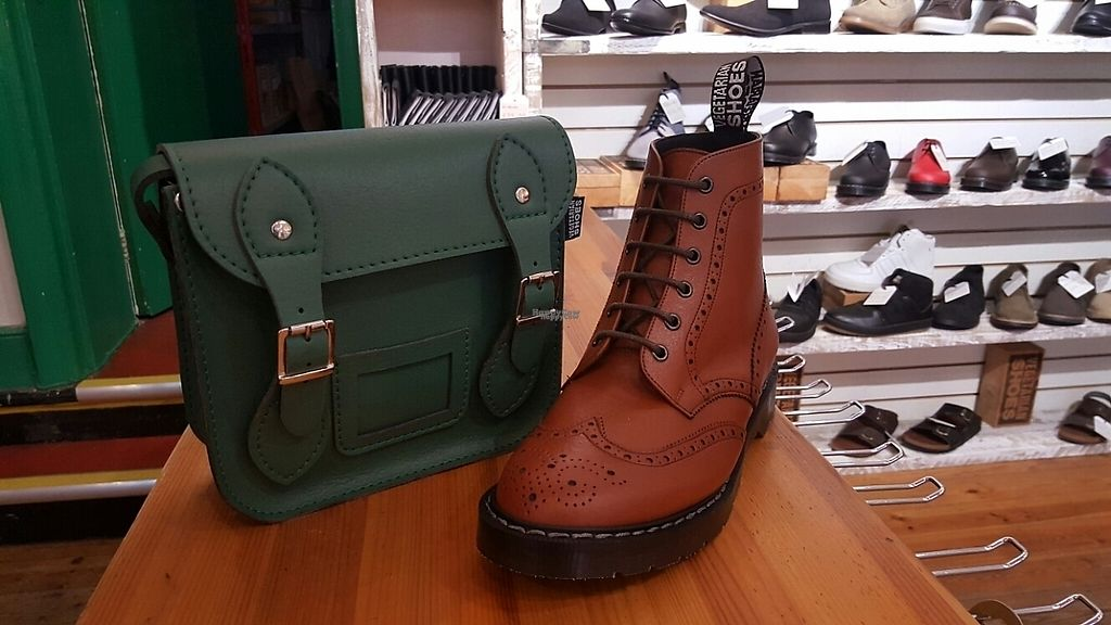 """Photo of Vegetarian Shoes  by <a href=""""/members/profile/Clare"""">Clare</a> <br/>goods <br/> February 28, 2017  - <a href='/contact/abuse/image/30114/231224'>Report</a>"""