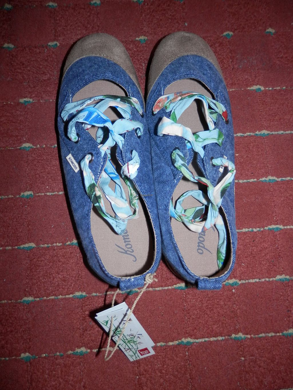 """Photo of Vegetarian Shoes  by <a href=""""/members/profile/Vegan_Belle"""">Vegan_Belle</a> <br/>Bali Ballet Shoes purchased from Vegetarian Shoes <br/> October 24, 2017  - <a href='/contact/abuse/image/30114/318347'>Report</a>"""