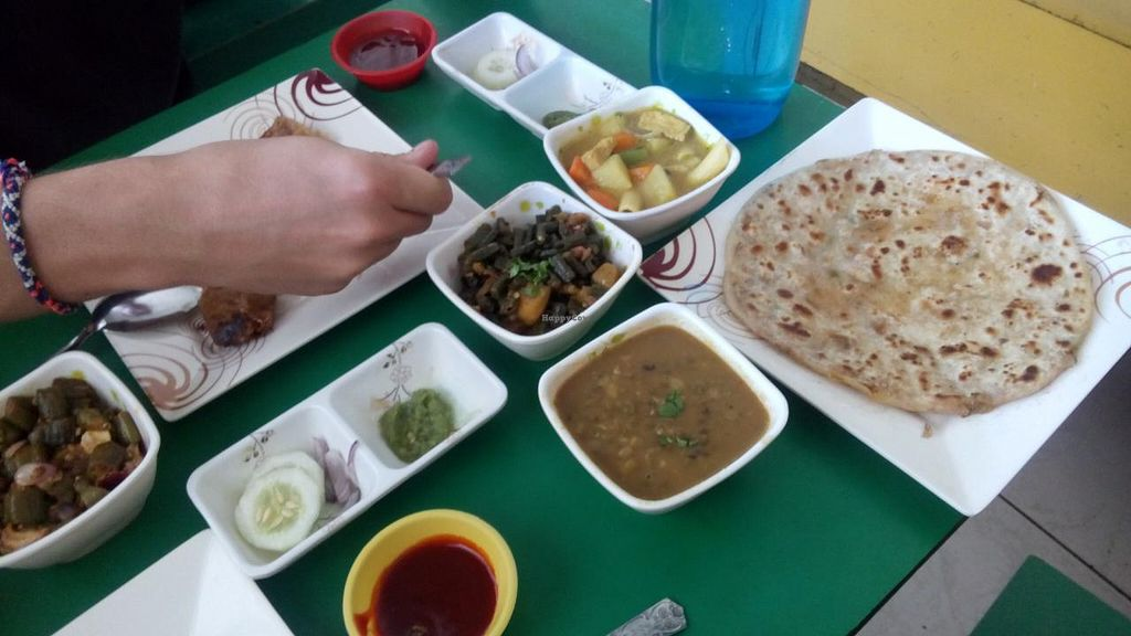 """Photo of Shiv Dal Roti Corner  by <a href=""""/members/profile/clary"""">clary</a> <br/>First part of our meal <br/> February 3, 2015  - <a href='/contact/abuse/image/30144/92176'>Report</a>"""