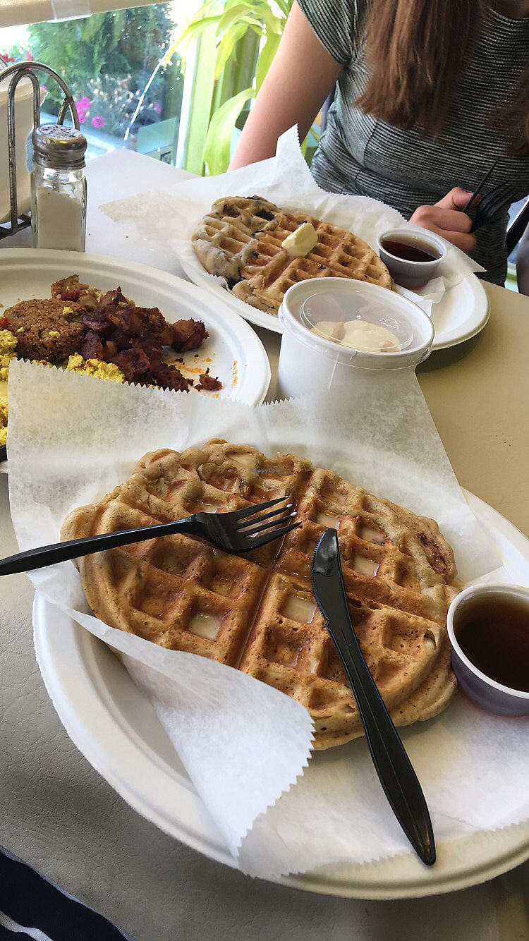 "Photo of Sweet and Natural  by <a href=""/members/profile/LauraHaines"">LauraHaines</a> <br/>Awesome vegan brunch! <br/> July 7, 2017  - <a href='/contact/abuse/image/30176/277374'>Report</a>"