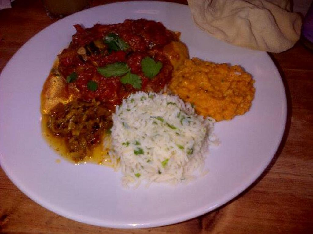 """Photo of Art Cafe  by <a href=""""/members/profile/Caryne"""">Caryne</a> <br/>Courgette Curry - delicious <br/> August 18, 2014  - <a href='/contact/abuse/image/30197/77380'>Report</a>"""