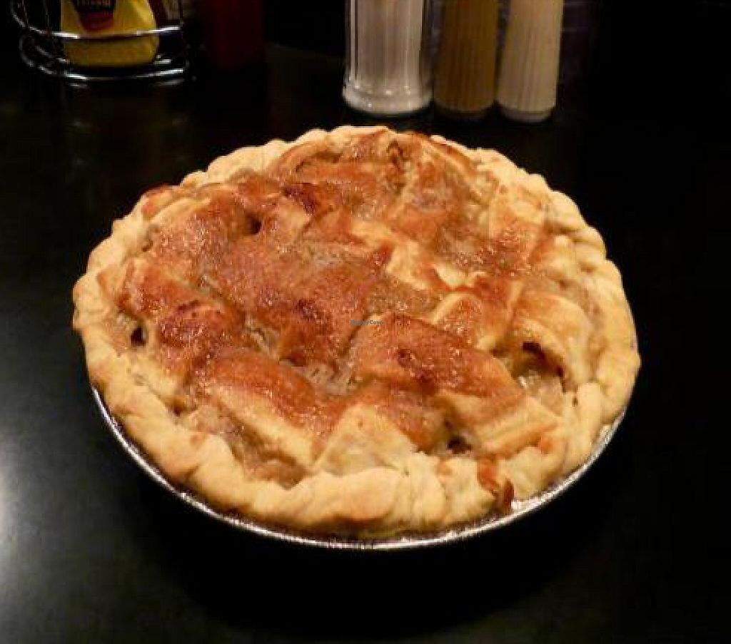 """Photo of The 5 Point Cafe  by <a href=""""/members/profile/Meinert"""">Meinert</a> <br/>Vegan Apple Caramel pie <br/> February 7, 2012  - <a href='/contact/abuse/image/30200/187687'>Report</a>"""