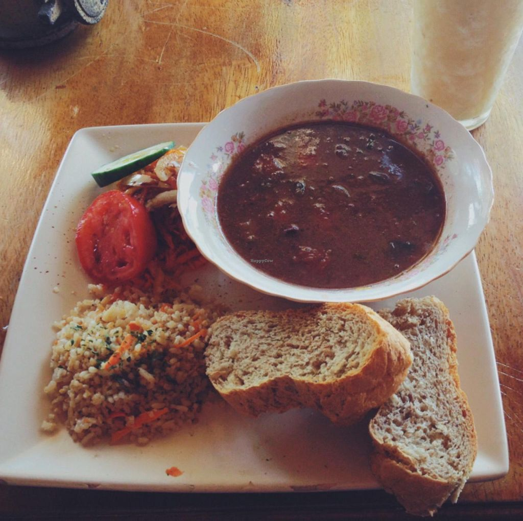 "Photo of Natural  by <a href=""/members/profile/MO.MARIEL"">MO.MARIEL</a> <br/>lentil-stew with rice, salad and home-made bread   <br/> March 12, 2015  - <a href='/contact/abuse/image/30209/95556'>Report</a>"