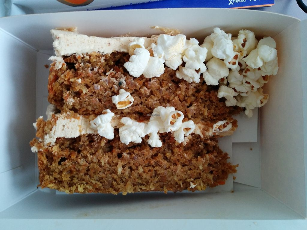 """Photo of Fukafe  by <a href=""""/members/profile/CLRtraveller"""">CLRtraveller</a> <br/>takeaway carrot cake <br/> February 24, 2018  - <a href='/contact/abuse/image/30227/363161'>Report</a>"""