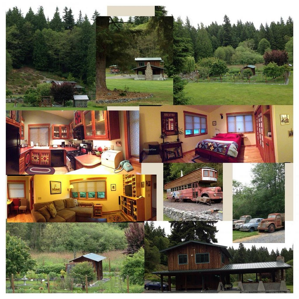 """Photo of Someday Farm Vegan Bed and Breakfast  by <a href=""""/members/profile/BethanyDavis"""">BethanyDavis</a> <br/>Photo collage of Someday Farm property & guest accommodations <br/> August 3, 2014  - <a href='/contact/abuse/image/30230/75900'>Report</a>"""