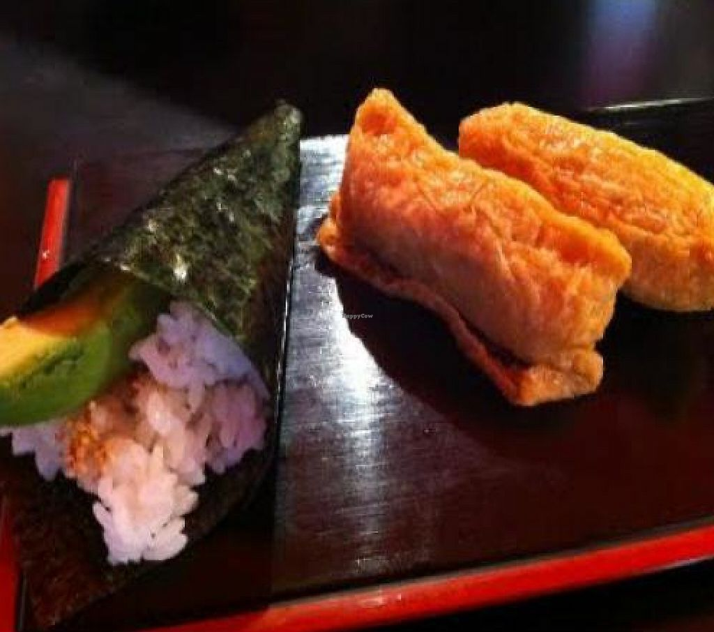 "Photo of Moshimo  by <a href=""/members/profile/jojoinbrighton"">jojoinbrighton</a> <br/>Inari Tofu & Avocado Temaki <br/> January 26, 2012  - <a href='/contact/abuse/image/30231/222105'>Report</a>"