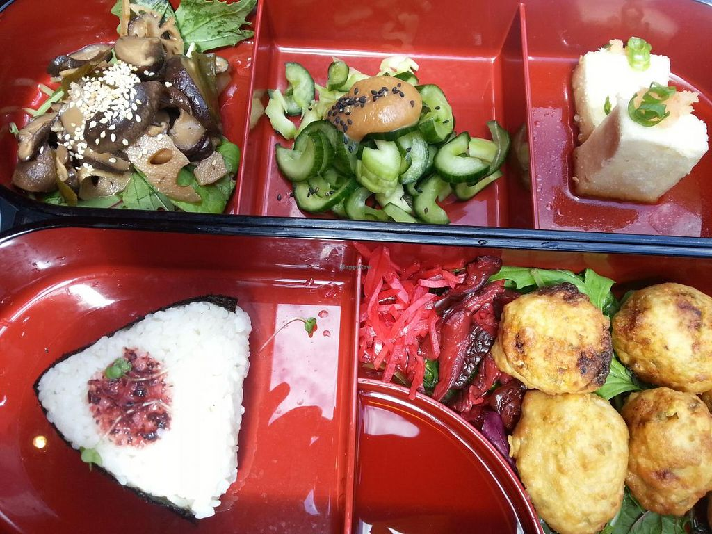 "Photo of Moshimo  by <a href=""/members/profile/Miggi"">Miggi</a> <br/>vegan bento box <br/> June 29, 2014  - <a href='/contact/abuse/image/30231/72944'>Report</a>"