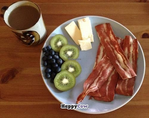 """Photo of Hearts Choices - Market Stall  by <a href=""""/members/profile/Hearts%20Choices"""">Hearts Choices</a> <br/>hearts Choices Veggie bacon.  Definitely a best seller! <br/> July 4, 2013  - <a href='/contact/abuse/image/30245/50710'>Report</a>"""
