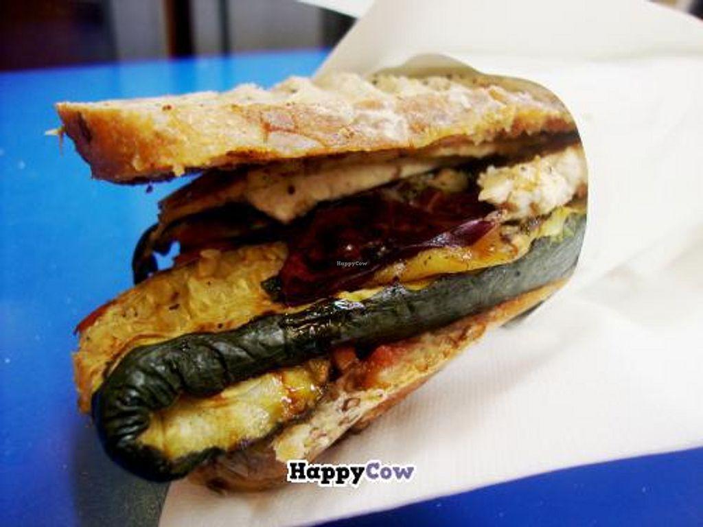 """Photo of CLOSED: Gli Stuzzichini del Corso  by <a href=""""/members/profile/SueClesh"""">SueClesh</a> <br/>vegan tofu sandwich <br/> October 27, 2013  - <a href='/contact/abuse/image/30279/57373'>Report</a>"""