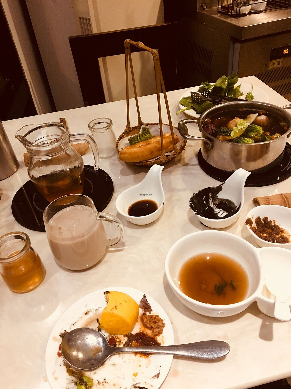 """Photo of Gan Ye Zi Hotpot - Frankie's Kitchen  by <a href=""""/members/profile/gordico"""">gordico</a> <br/>Hot pot+ Buffet + Drinks ? <br/> November 25, 2017  - <a href='/contact/abuse/image/30294/329004'>Report</a>"""