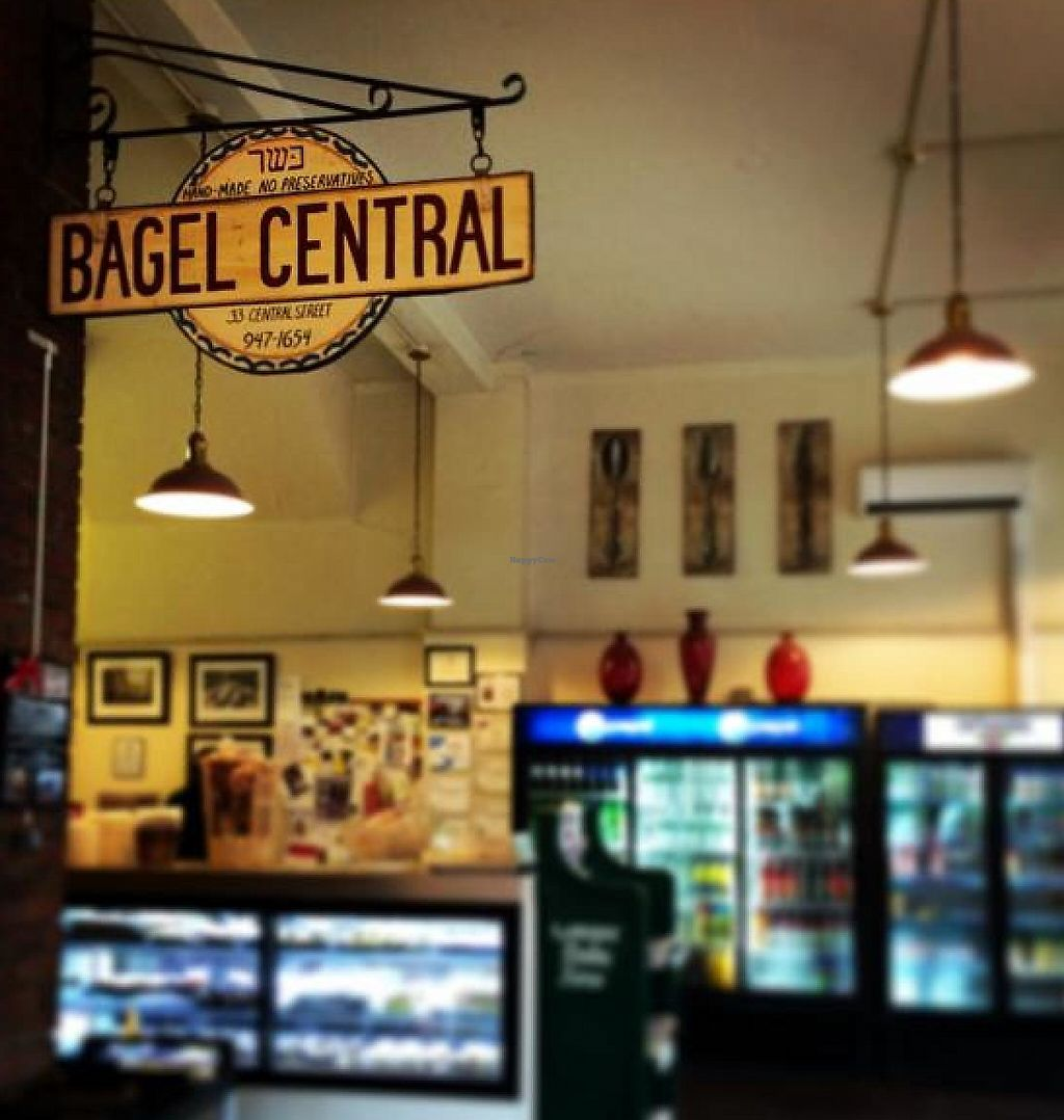 "Photo of Bagel Central  by <a href=""/members/profile/grinrock"">grinrock</a> <br/>bagel central <br/> June 25, 2014  - <a href='/contact/abuse/image/30316/201446'>Report</a>"