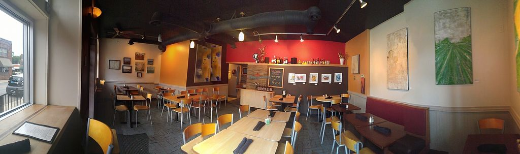 "Photo of Sobro Cafe  by <a href=""/members/profile/Lomky"">Lomky</a> <br/>Panorama from the window seat  <br/> July 22, 2017  - <a href='/contact/abuse/image/30317/283201'>Report</a>"
