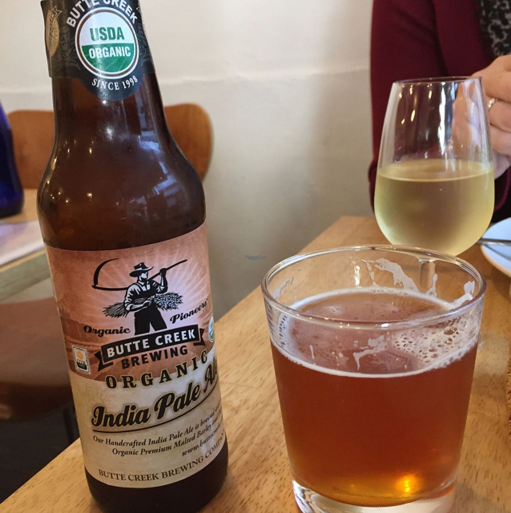 """Photo of Raw8 Cafe  by <a href=""""/members/profile/Gillsabroad"""">Gillsabroad</a> <br/>vegan beer and wine  <br/> January 28, 2017  - <a href='/contact/abuse/image/30371/218102'>Report</a>"""