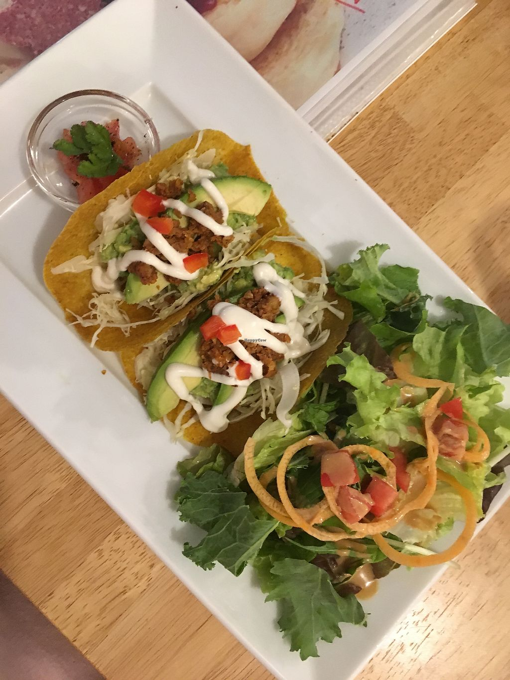 """Photo of Raw8 Cafe  by <a href=""""/members/profile/BecBarke"""">BecBarke</a> <br/>Raw tacos!  <br/> April 21, 2018  - <a href='/contact/abuse/image/30371/388839'>Report</a>"""