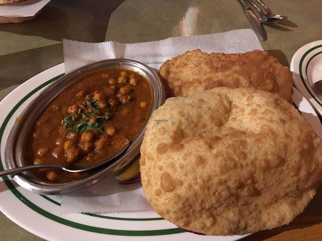 """Photo of Dosa-N-Curry  by <a href=""""/members/profile/sophiefrenchfry"""">sophiefrenchfry</a> <br/>Chana Masala (vegan) <br/> December 7, 2017  - <a href='/contact/abuse/image/30392/333251'>Report</a>"""